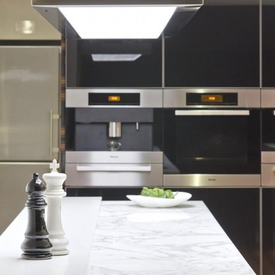 Великолепный дизайн кухни в стиле минимализм