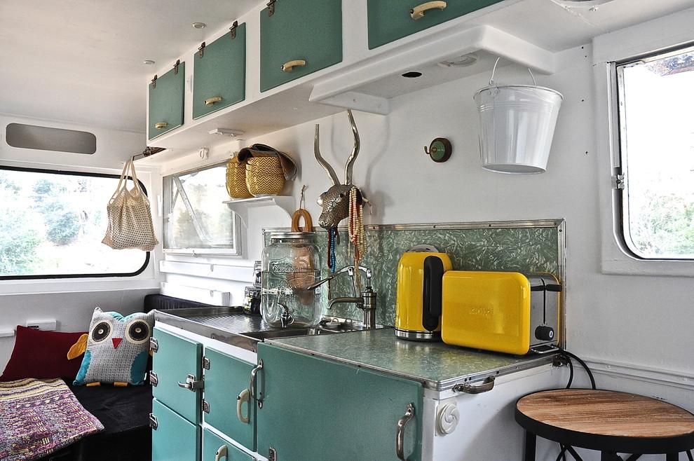 Ретро-дизайн интерьера кухни от Luci.D Interiors
