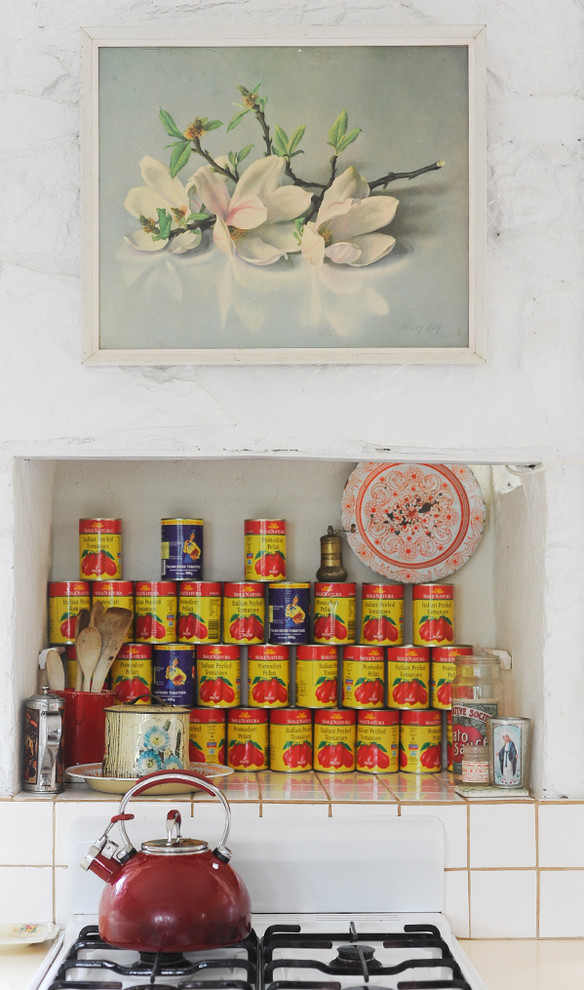 Ретро-дизайн интерьера кухни от Sweet William