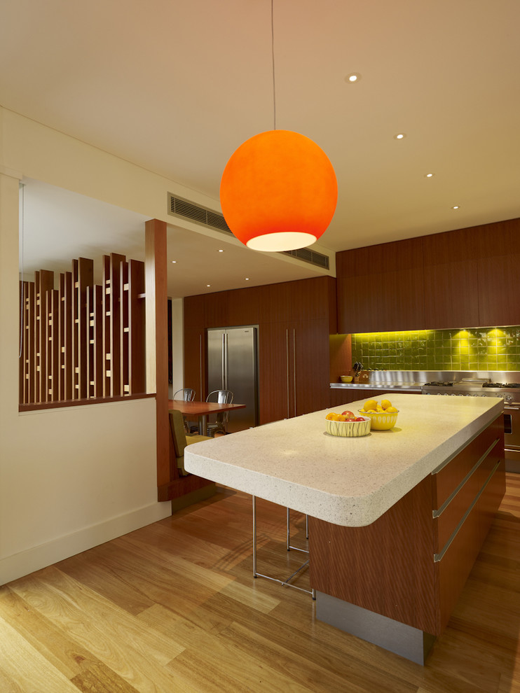 Ретро-дизайн интерьера кухни от Melocco and Moore Architects