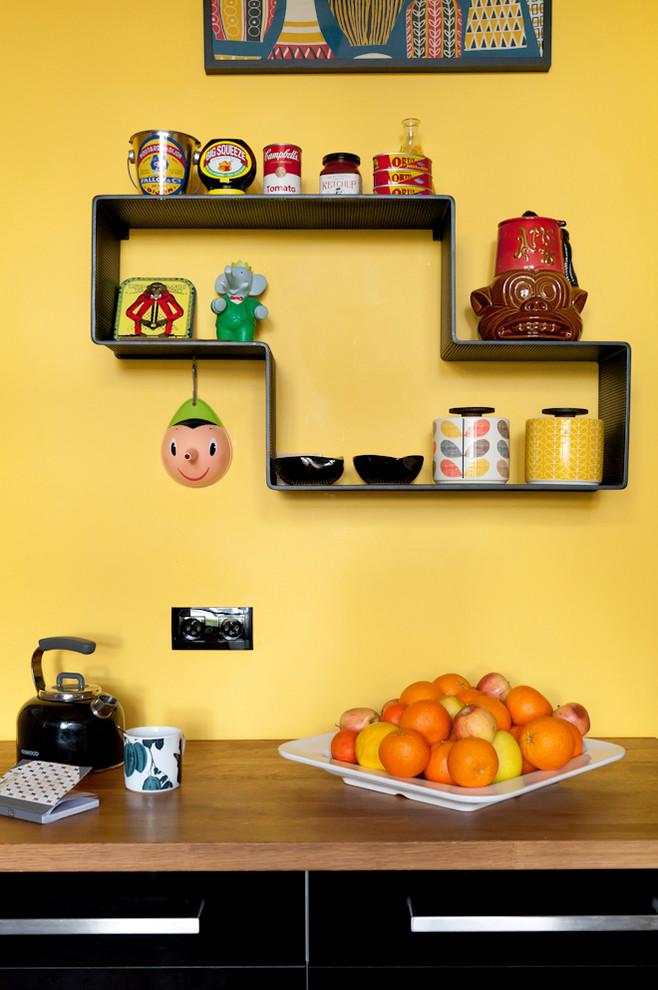 Ретро-дизайн интерьера кухни от Fusion D