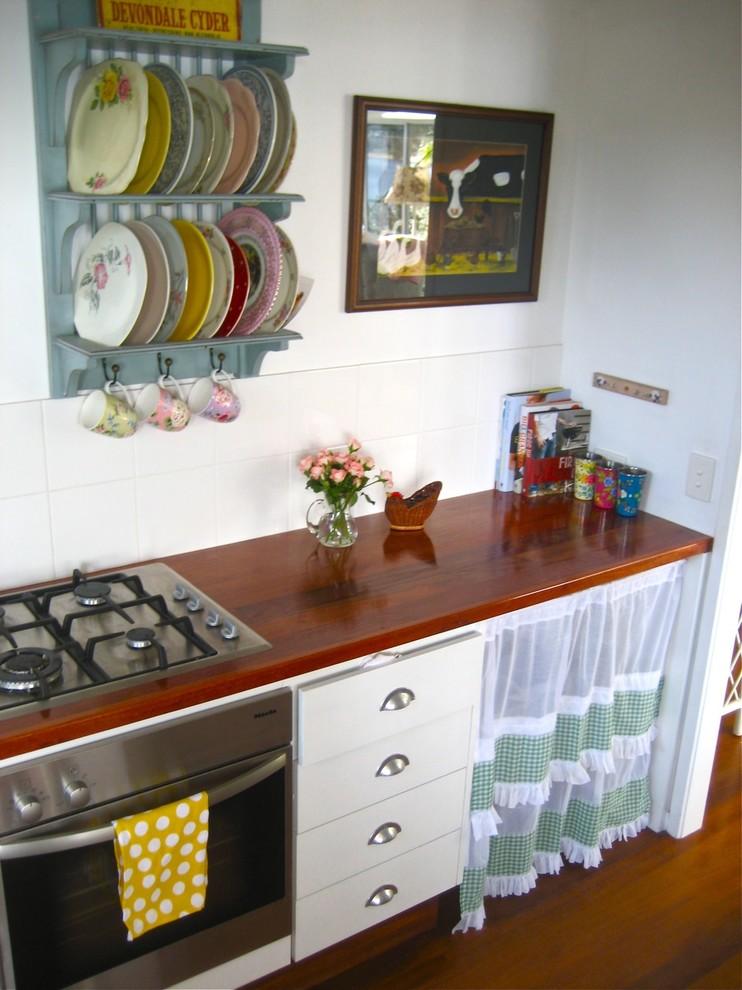 Ретро-дизайн интерьера кухни от Beach Vintage