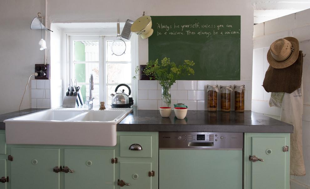 Ретро-дизайн интерьера кухни от Jeni Lee