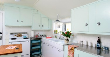 Ретро-дизайн интерьера кухни от Sarah Phipps Design