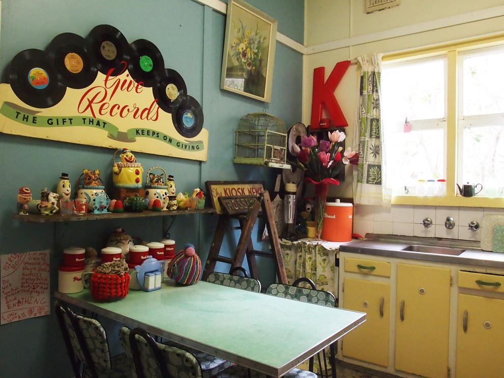 Ретро-дизайн интерьера кухни от Liz Durnan