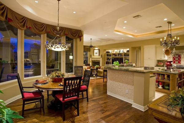 Дизайн интерьера кухни-столовой от Дизайн-идея Lili Fleming-Nieri, ASID