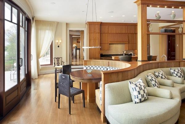 Дизайн интерьера кухни-столовой от Nicholaeff Architecture + Design