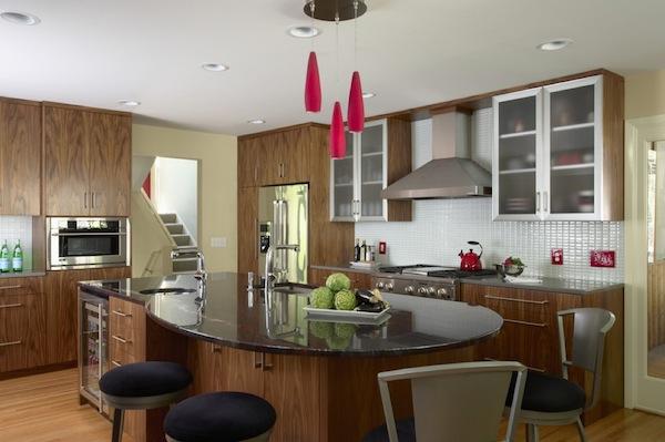 Дизайн интерьера кухни-столовой от Indicia Interior Design
