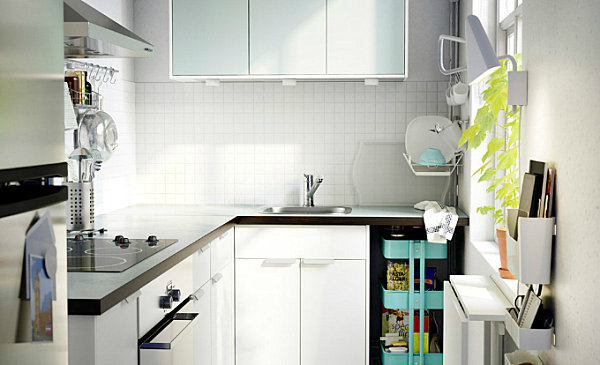 Оригинальный дизайн интерьера кухни в скандинавском стиле