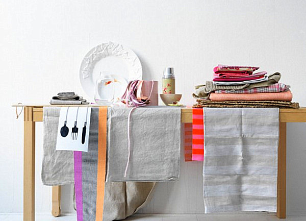 Кухонные полотенца и тканевые салфетки