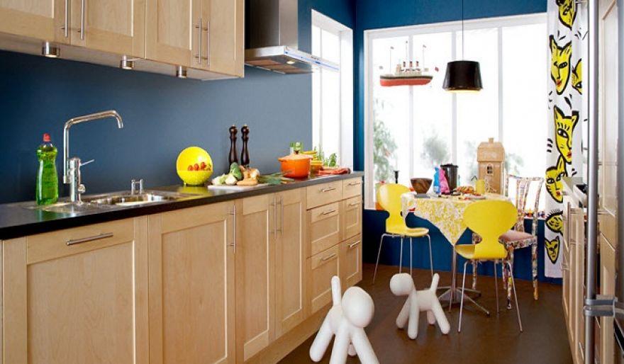 Дизайн интерьера кухни из натурального дерева в скандинавском стиле от Marbodal