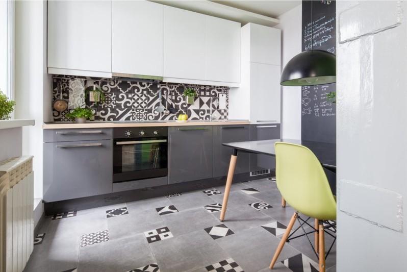 Kitchen interior in gray - examples, tips, photos