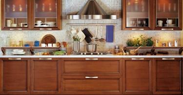Осовремененный интерьер Чертоза - дизайн шикарной кухни в итальянском стиле