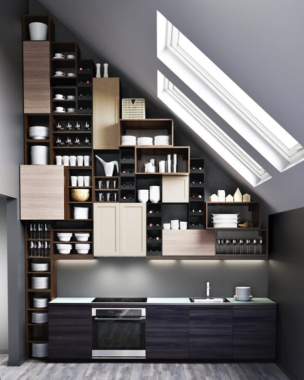 Шкафы для кухни от Ikea