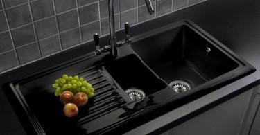 Эргономичный дизайн кухонной мойки Reginox