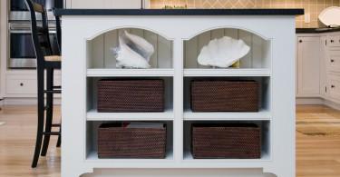 8 потрясающих идей организации систем скрытого хранения на кухне