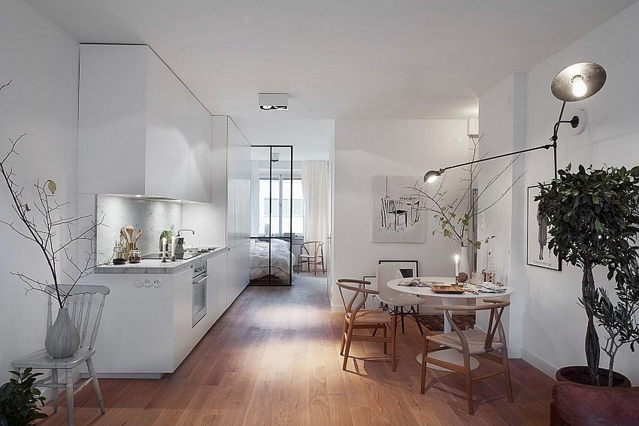 Скандинавский стиль в интерьере кухни - Фото 3