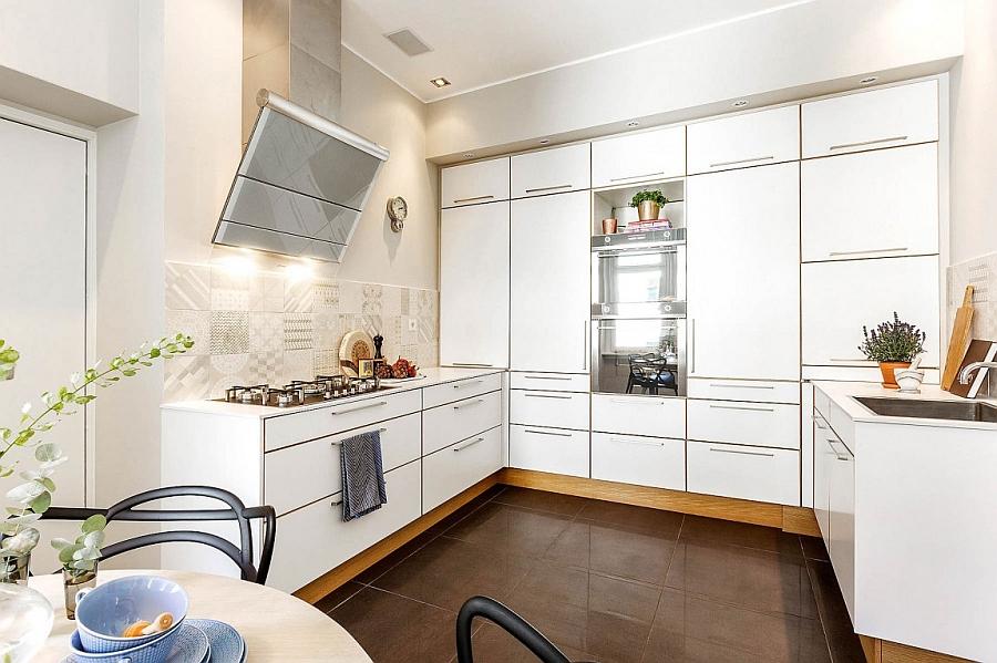 Скандинавский стиль в интерьере кухни - Фото 4