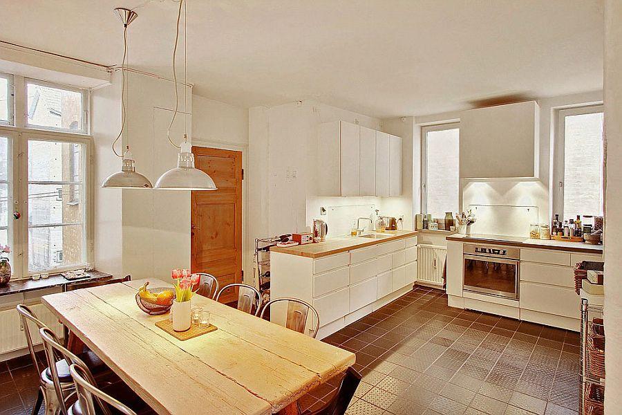 Скандинавский стиль в интерьере кухни - Фото 5