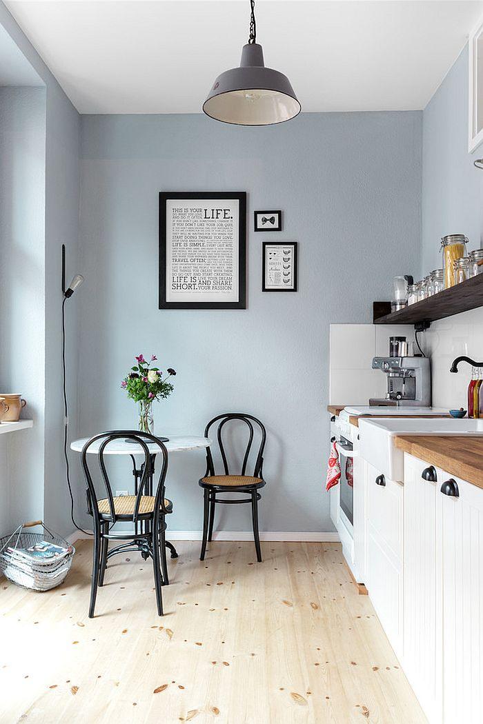 Скандинавский стиль в интерьере кухни - Фото 13