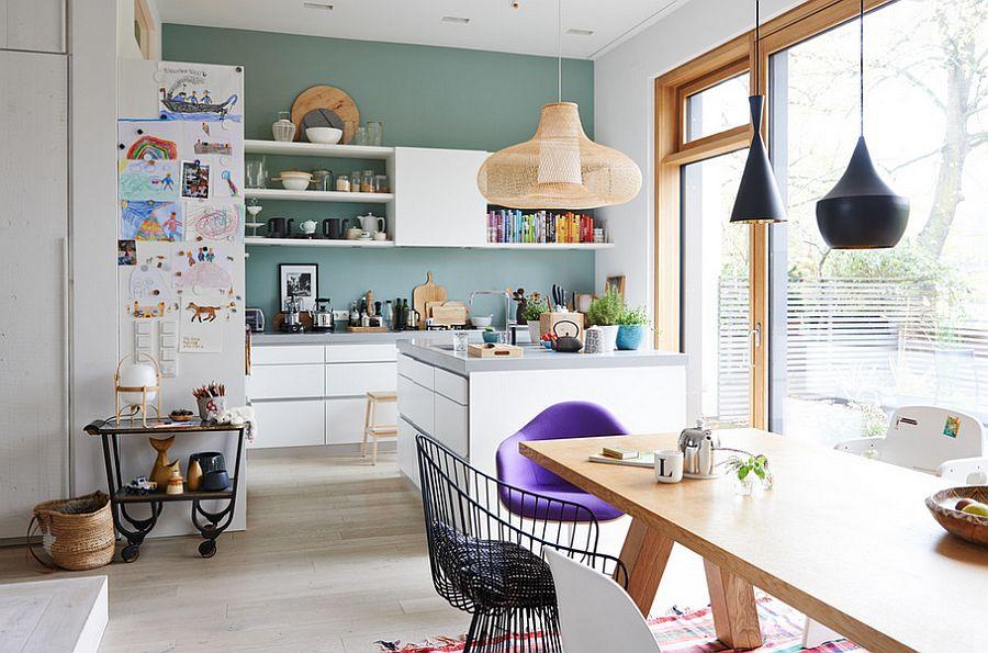 Скандинавский стиль в интерьере кухни - Фото 17