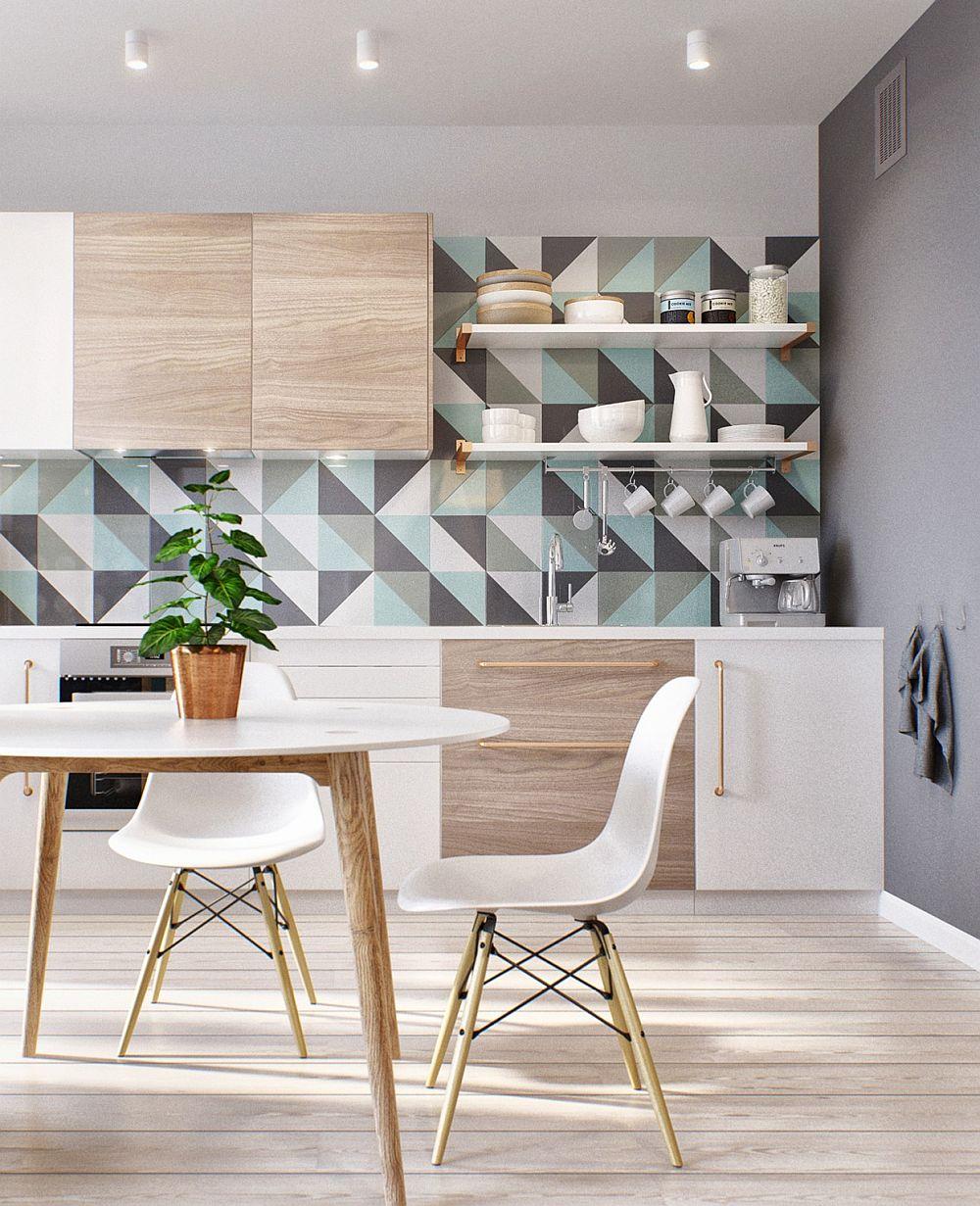 Скандинавский стиль в интерьере кухни - Фото 18