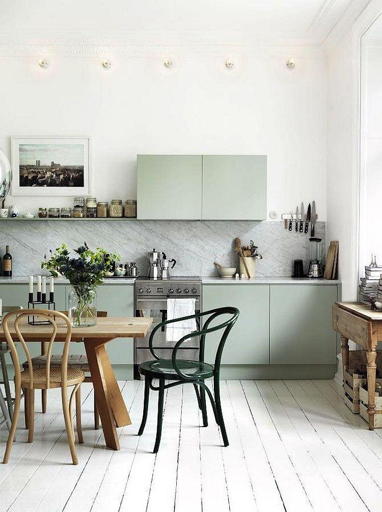 Скандинавский стиль в интерьере кухни - Фото 20