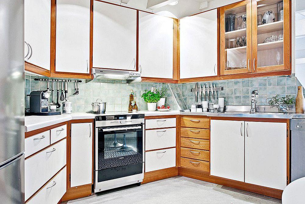 Скандинавский стиль в интерьере кухни - Фото 23