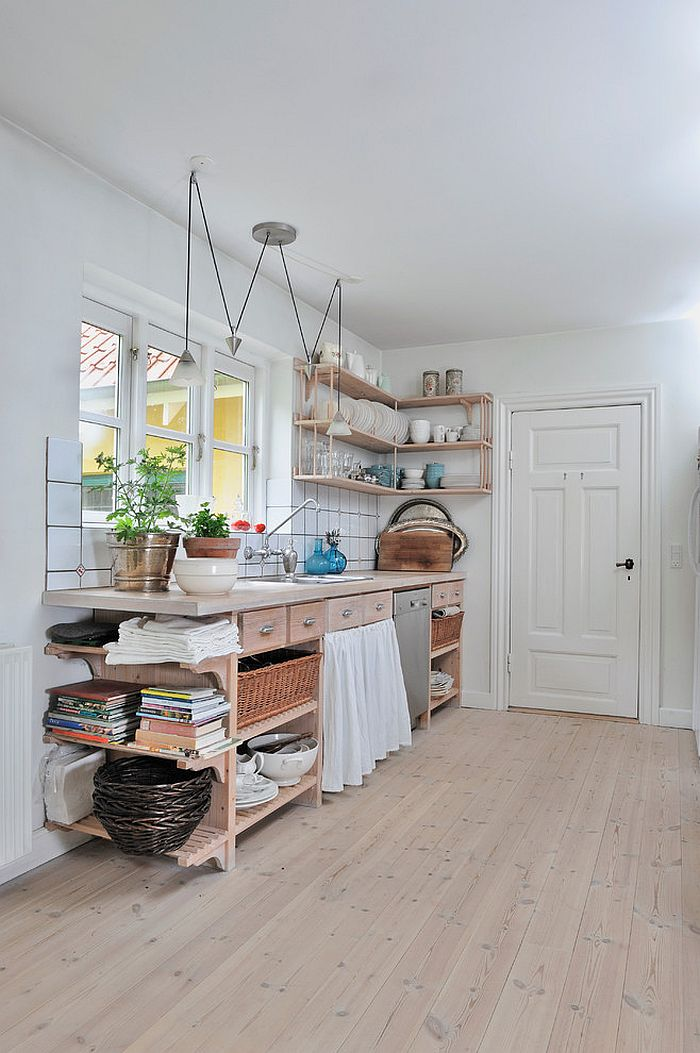 Скандинавский стиль в интерьере кухни - Фото 24