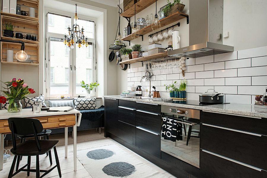 Скандинавский стиль в интерьере кухни - Фото 28