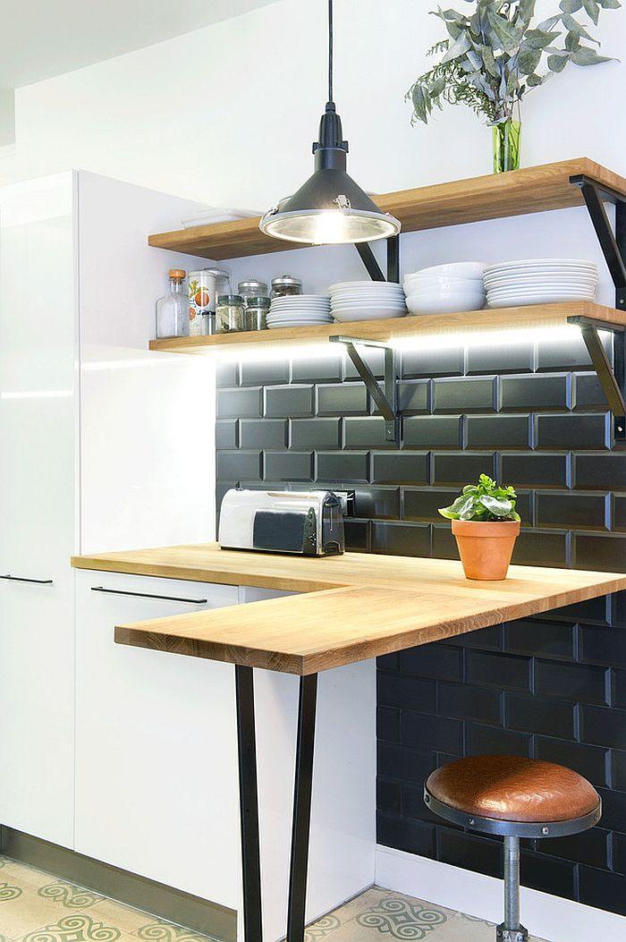 Скандинавский стиль в интерьере кухни - Фото 30