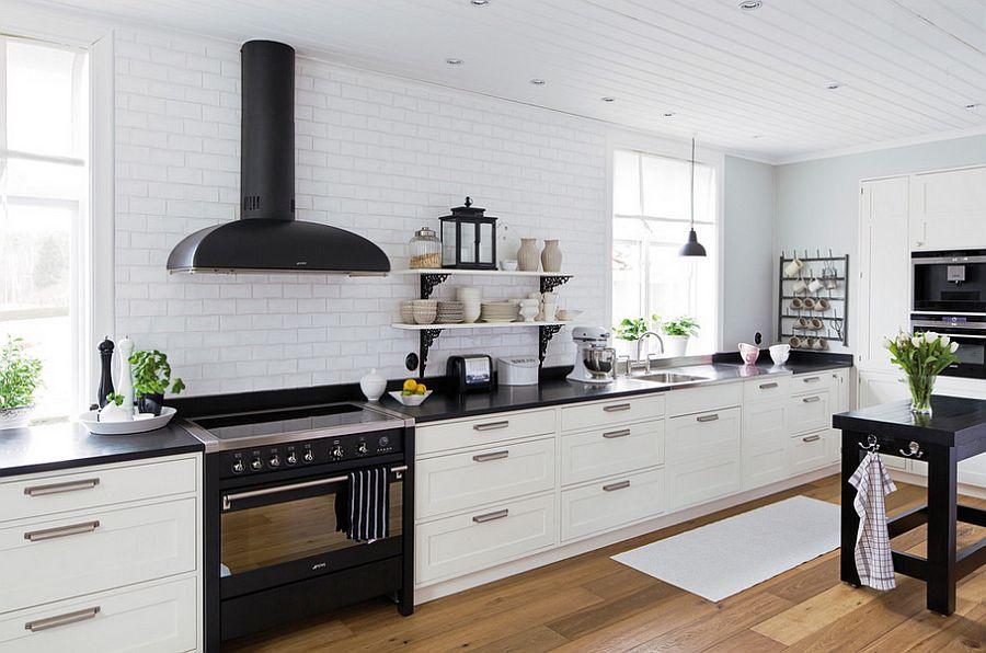 Скандинавский стиль в интерьере кухни - Фото 36