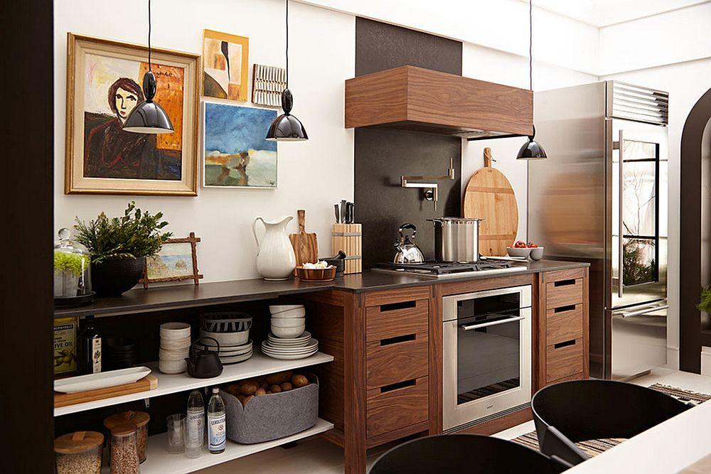 Скандинавский стиль в интерьере кухни - Фото 37