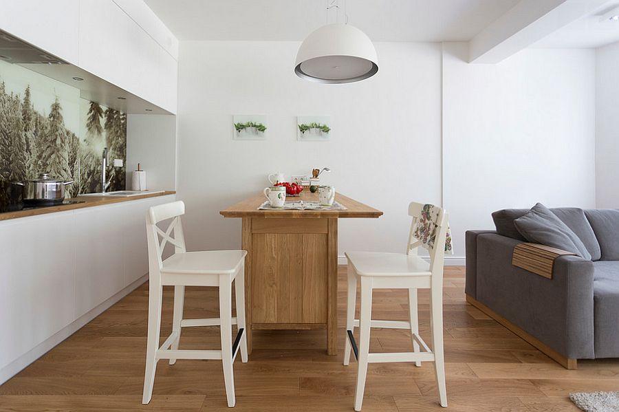 Скандинавский стиль в интерьере кухни - Фото 46
