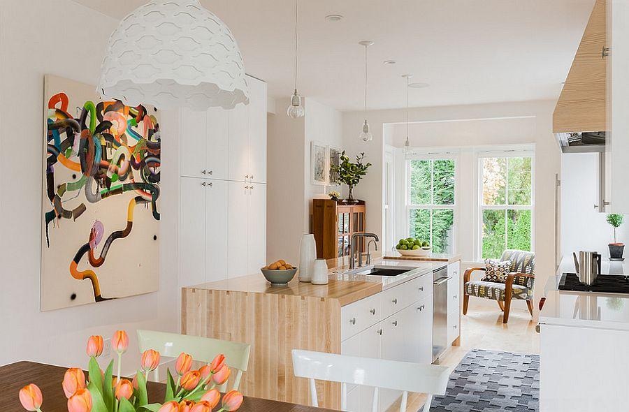 Скандинавский стиль в интерьере кухни - Фото 48