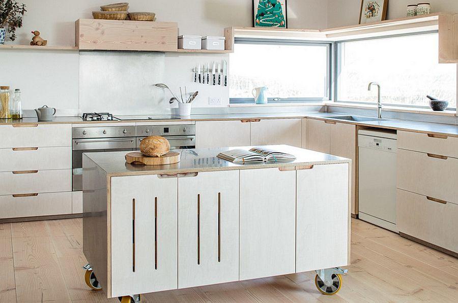 Скандинавский стиль в интерьере кухни - Фото 49