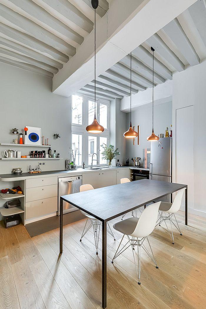 Скандинавский стиль в интерьере кухни - Фото 47