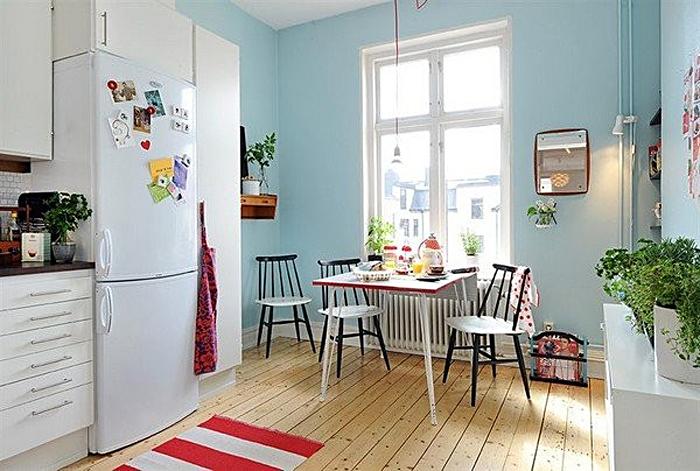 Дизайн интерьера кухни в скандинавском стиле