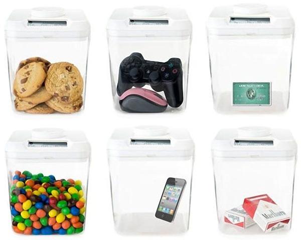 Пластиковые контейнеры с таймером
