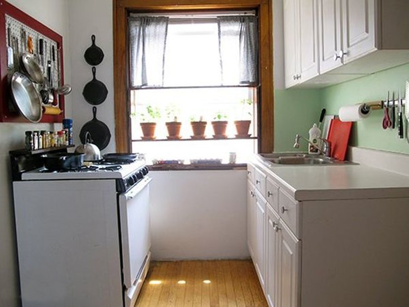 Уютный дизайн маленькой кухни
