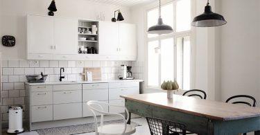 Сочетание цветов в интерьере кухни создаëт неповторимое настроение