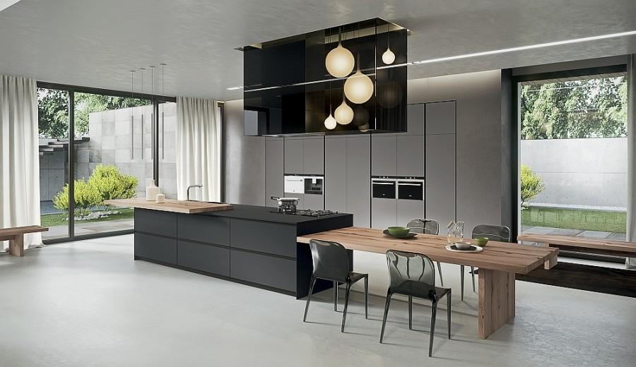 Современный дизайн экологичной кухни AK_04 от Arrital Cucine