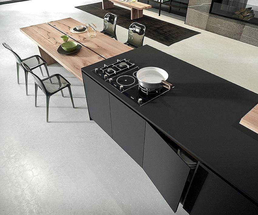 Современный дизайн экологичной кухни AK_04 от Arrital