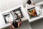 Современная бытовая техника кухни стильная и функциональная