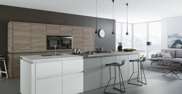 Смотрим и вдохновляемся: черно-белая кухня