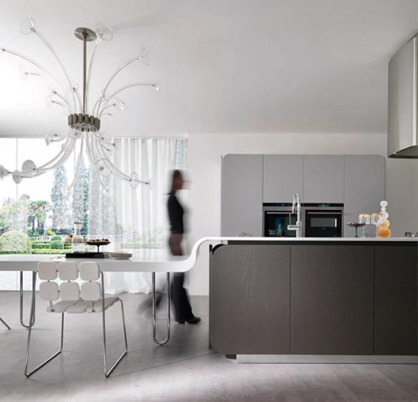 Современная мебель для кухни: необычный дизайн стульев