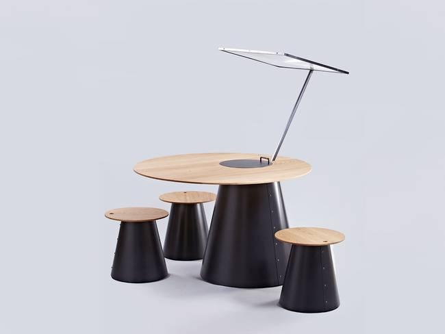 Солнечная плита от дизайнеров