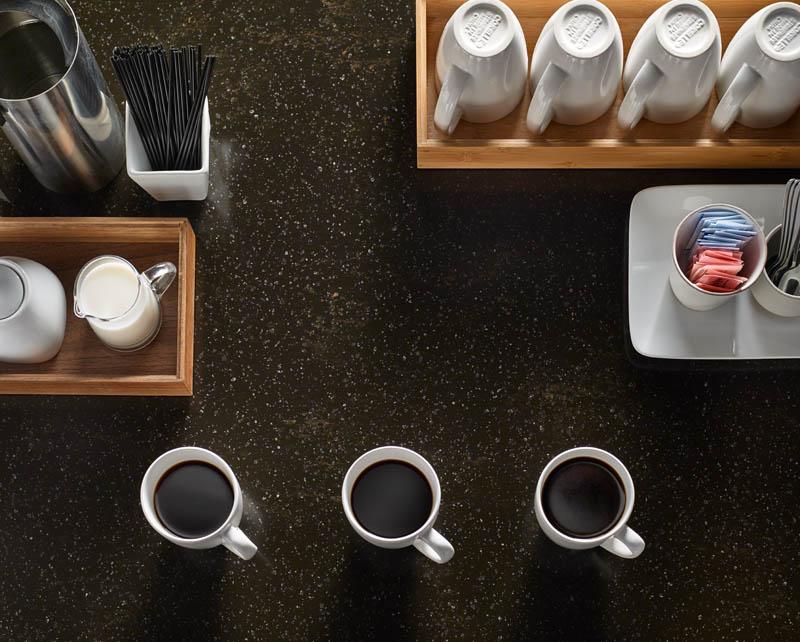 Столешницы DuPont в сочетании с интерьером стола