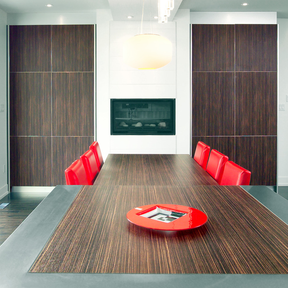 Отделка стен деревянными панелями в интерьере кухни
