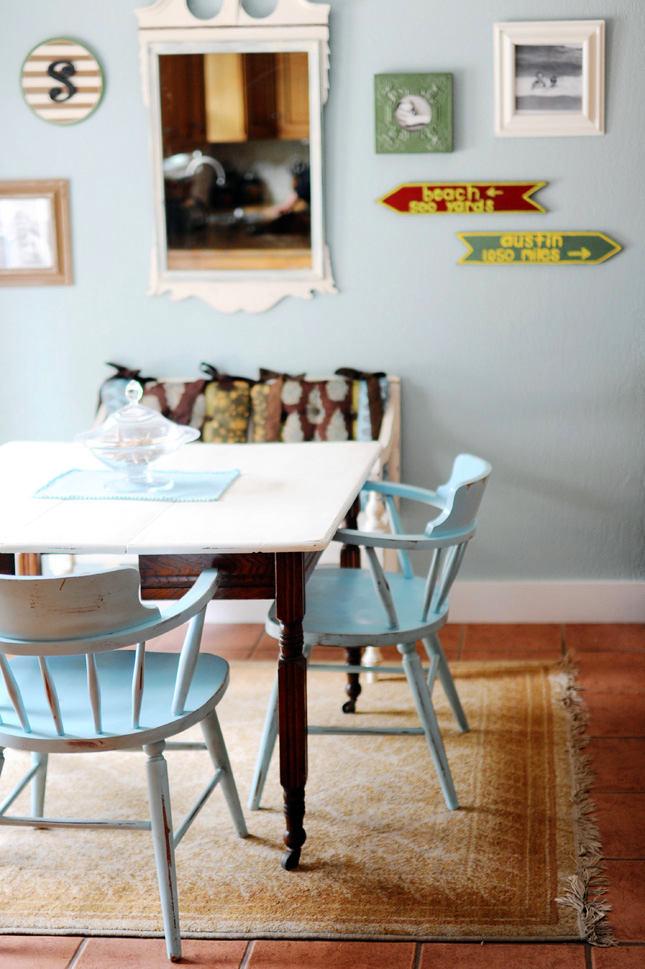 Оформление столовой на кухне